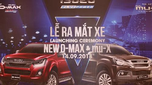 Isuzu D-MAX & MU-X 2018 mới chính thức trình làng